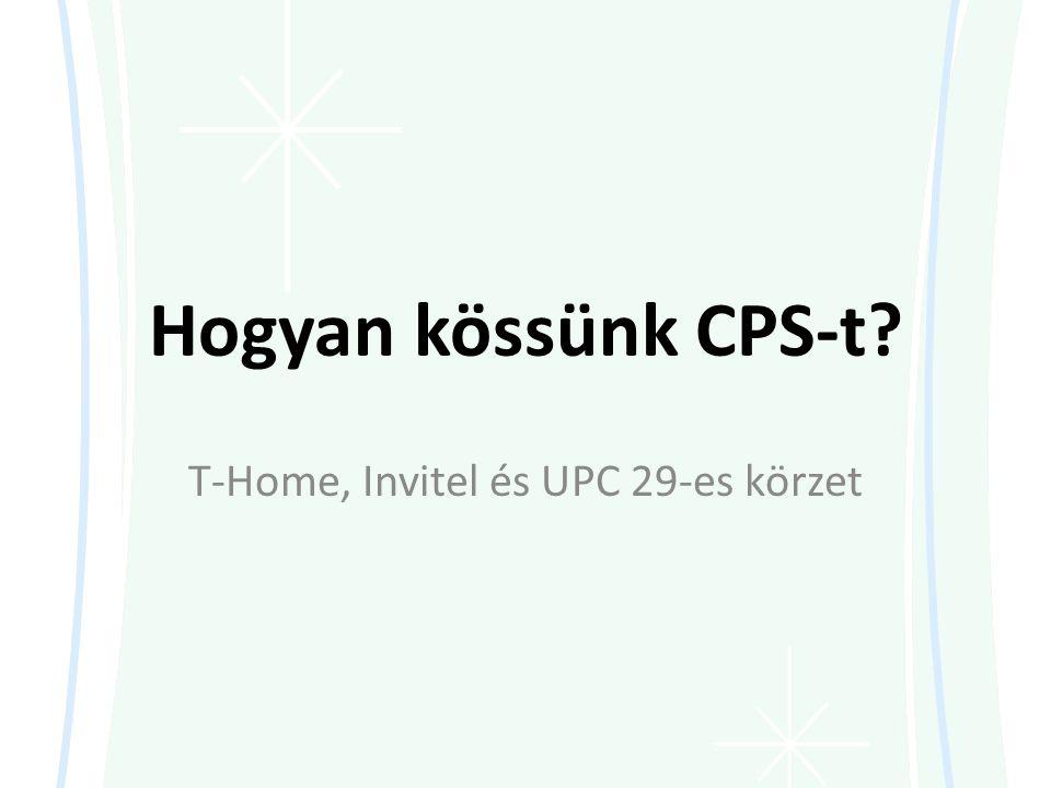 T-Home, Invitel és UPC 29-es körzet