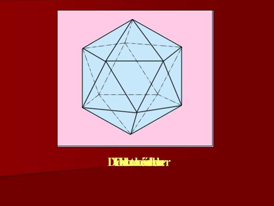 Dodekaéder Tetraéder Ikozaéder Oktaéder Hexaéder