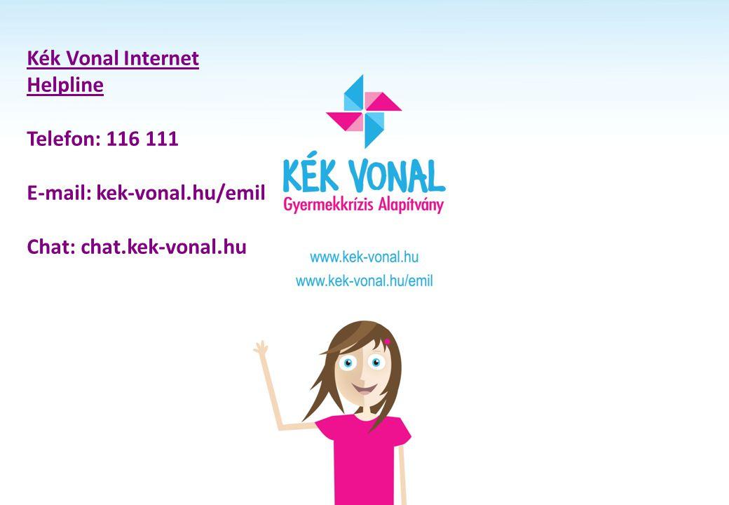 Kék Vonal Internet Helpline