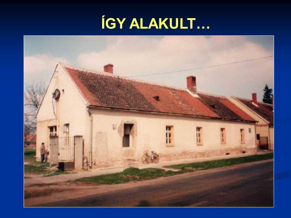 ÍGY ALAKULT…