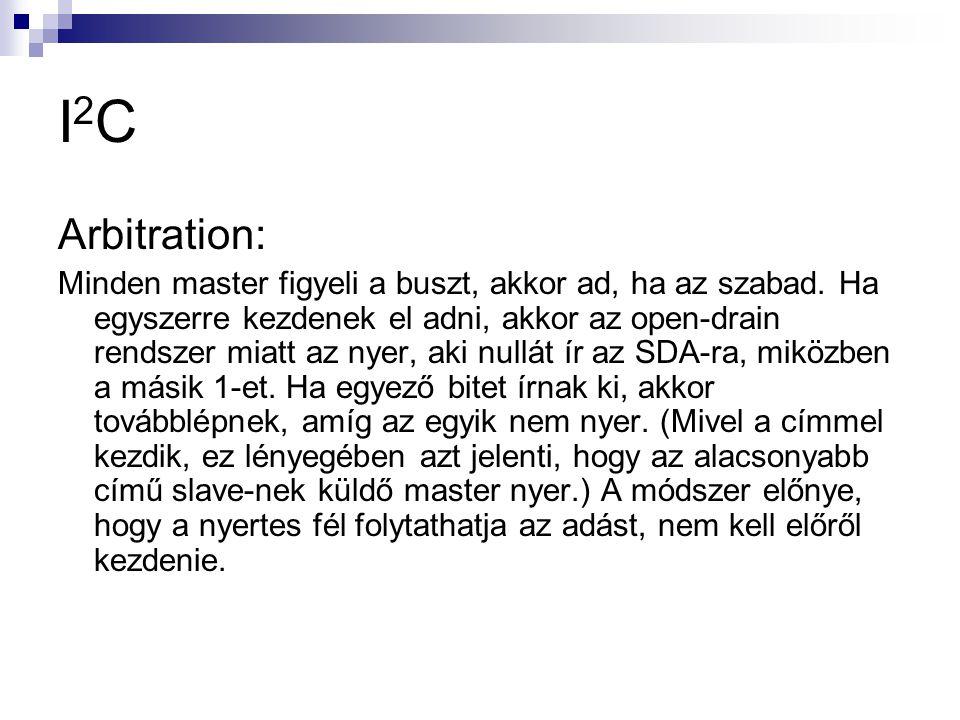 I2C Arbitration: