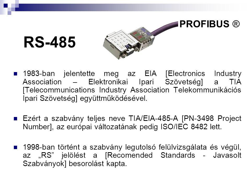 PROFIBUS ® RS-485.