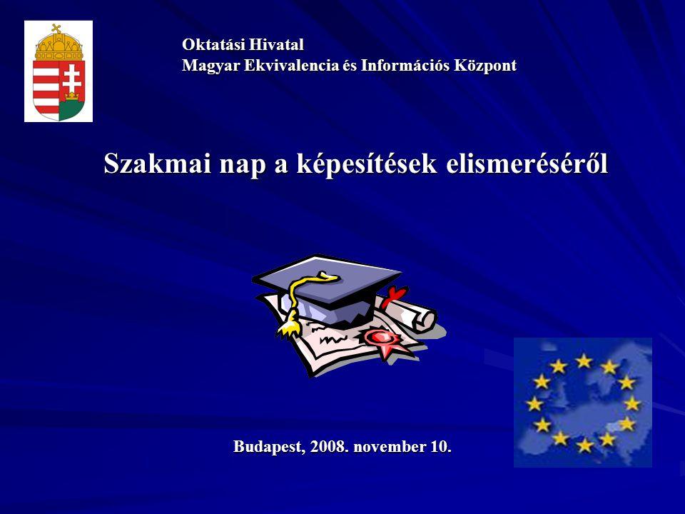 Szakmai nap a képesítések elismeréséről