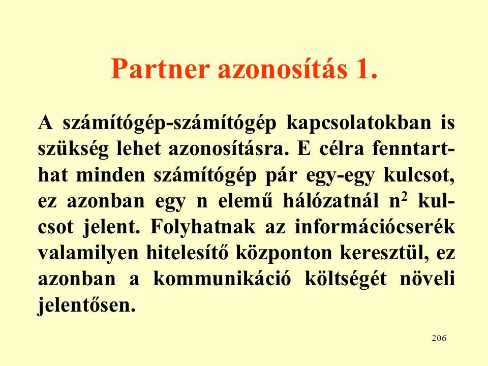 Partner azonosítás 1.