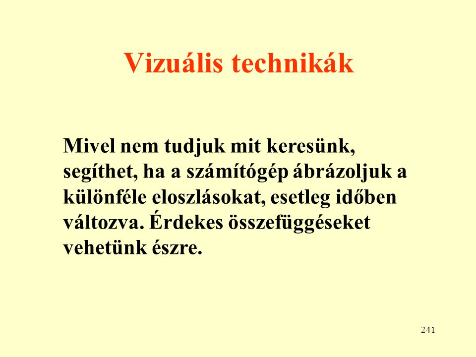 Vizuális technikák