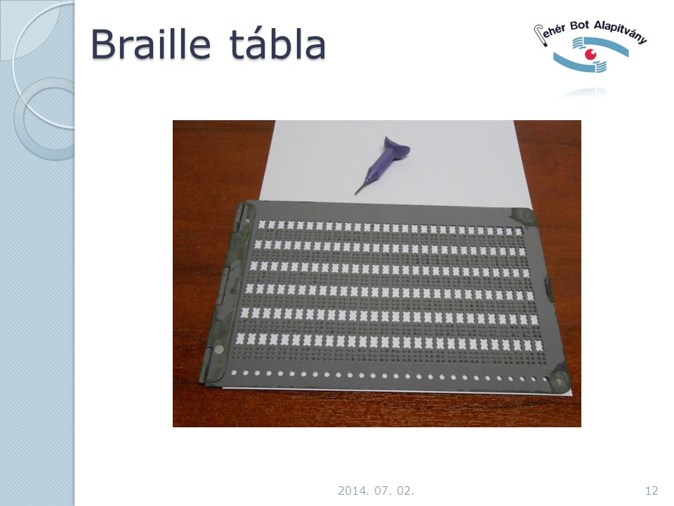 Braille tábla 2017.04.03.