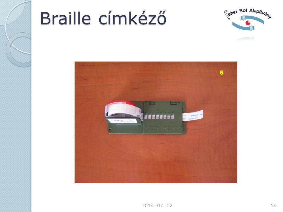 Braille címkéző 2017.04.03.