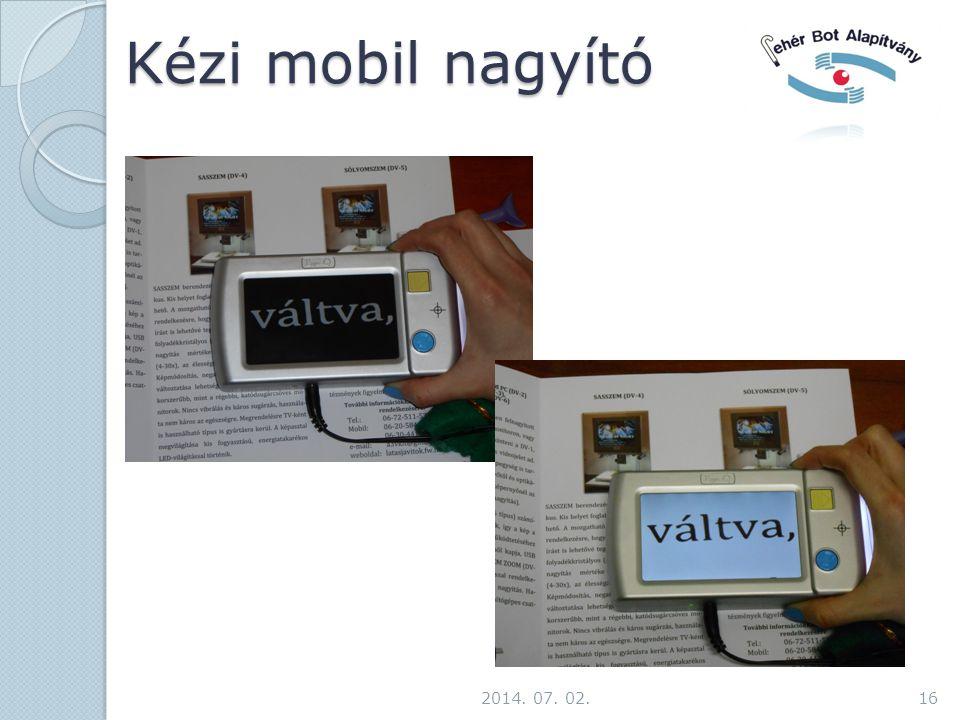 Kézi mobil nagyító 2017.04.03.