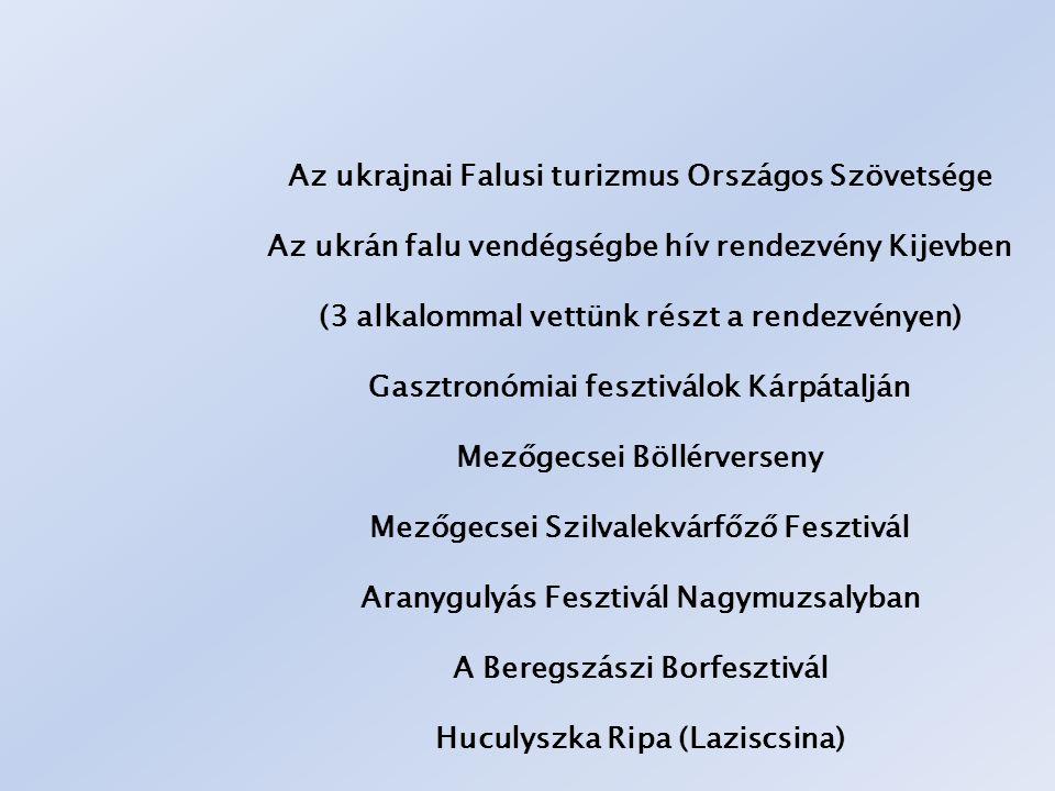 Az ukrajnai Falusi turizmus Országos Szövetsége