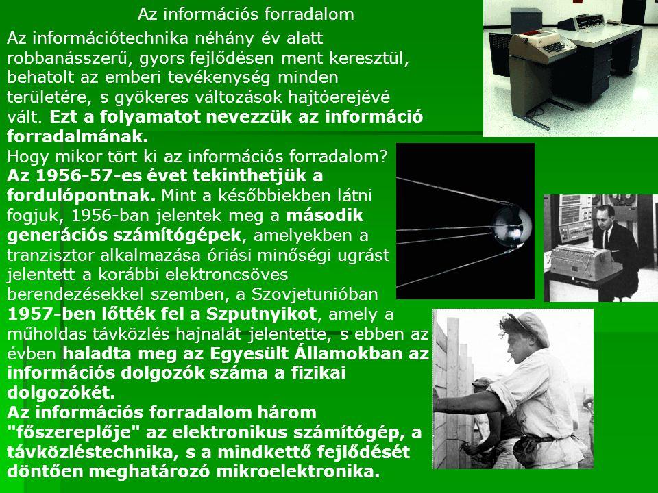 Az információs forradalom