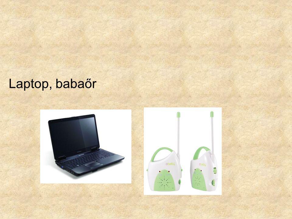 Laptop, babaőr