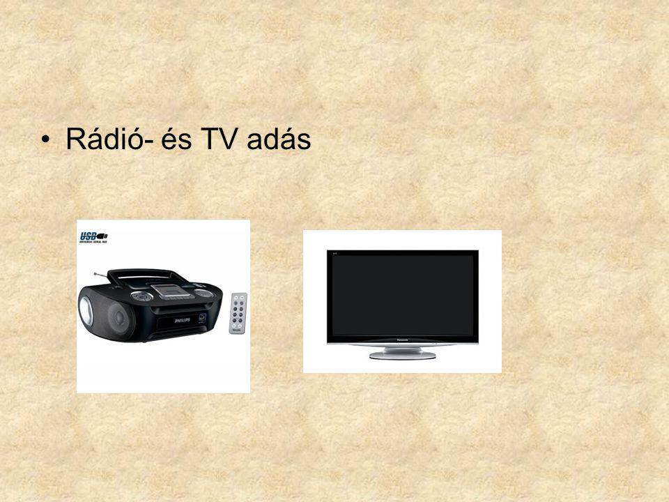 Rádió- és TV adás