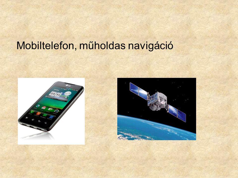 Mobiltelefon, műholdas navigáció