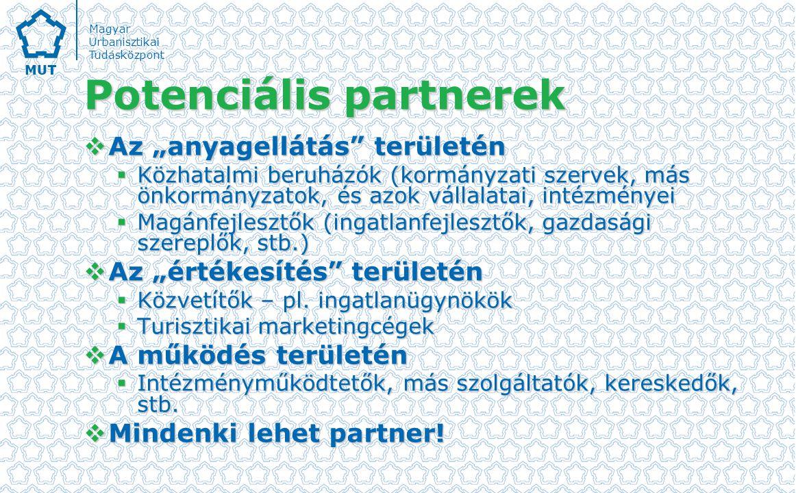 Potenciális partnerek