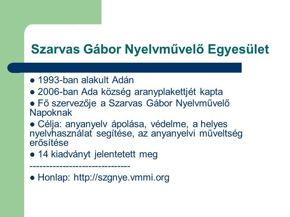 Szarvas Gábor Nyelvművelő Egyesület