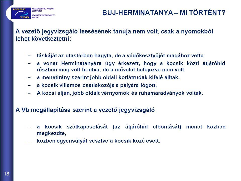 BUJ-HERMINATANYA – MI TÖRTÉNT