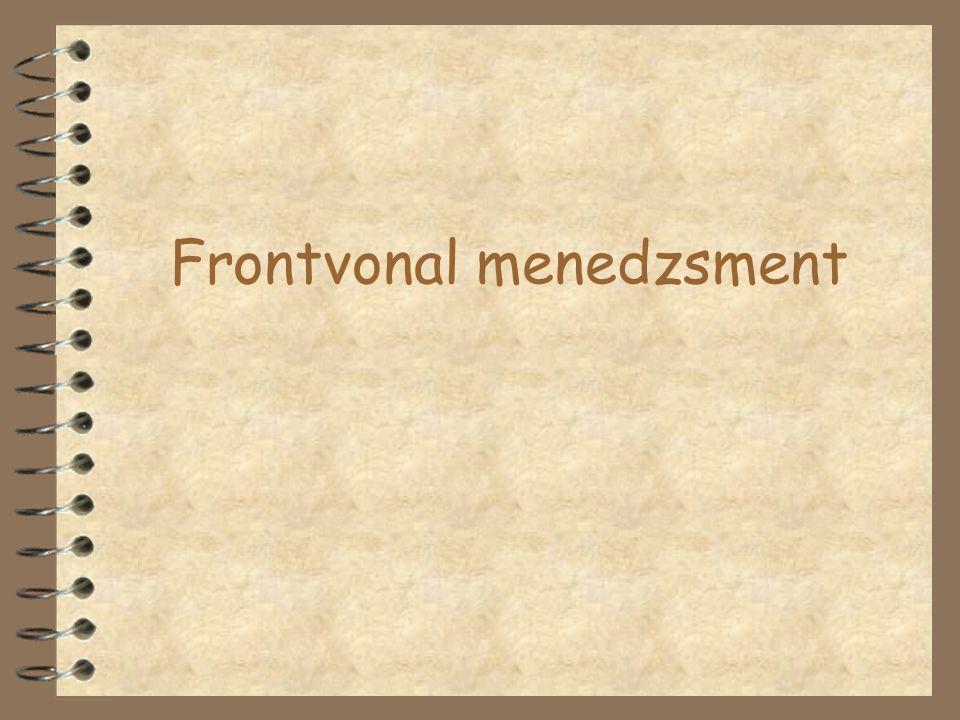 Frontvonal menedzsment