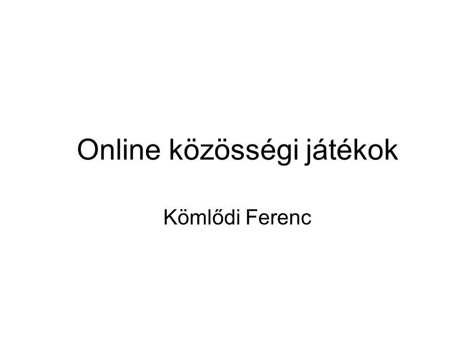 Online közösségi játékok