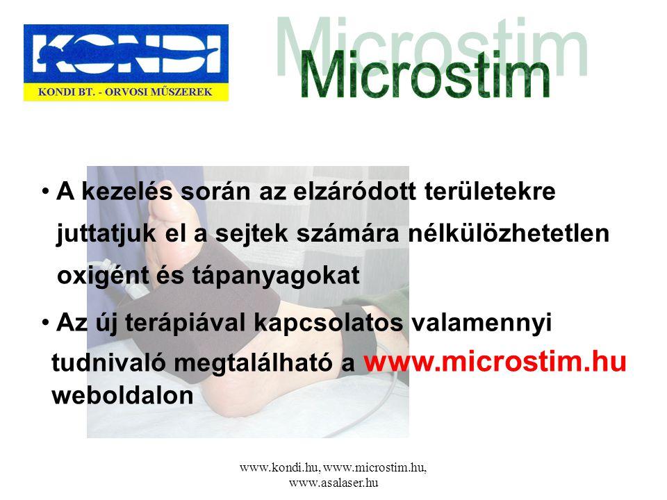 www.kondi.hu, www.microstim.hu, www.asalaser.hu