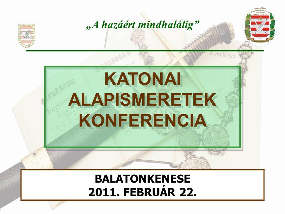 """""""A hazáért mindhalálig BALATONKENESE 2011. FEBRUÁR 22."""