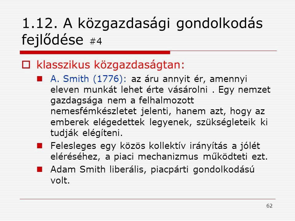 1.12. A közgazdasági gondolkodás fejlődése #4