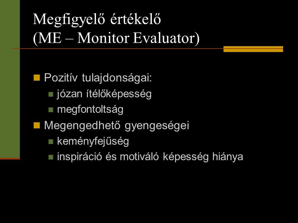 Megfigyelő értékelő (ME – Monitor Evaluator)