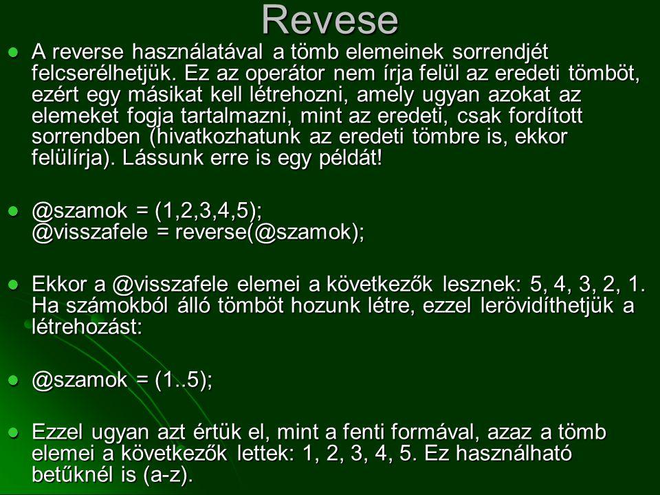 Revese