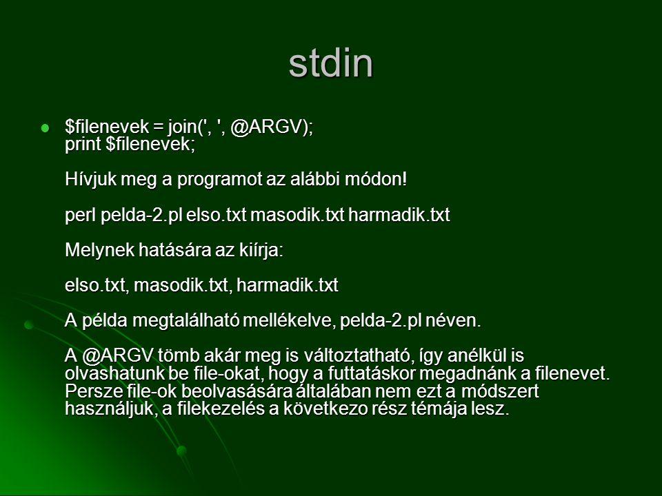 stdin