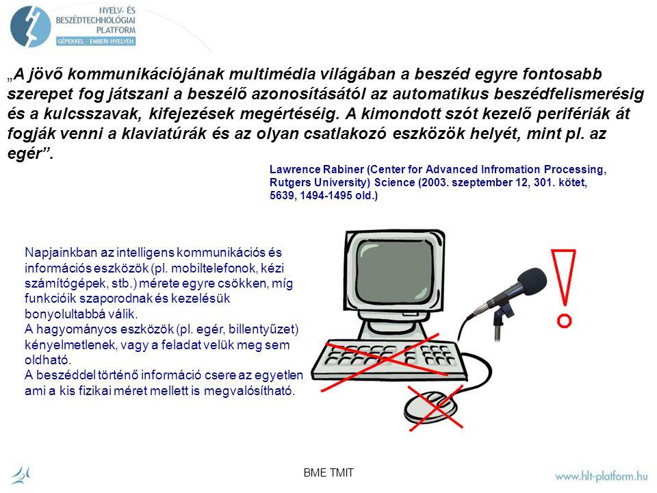 BME Távközlési és Médiainformatikai Tanszék