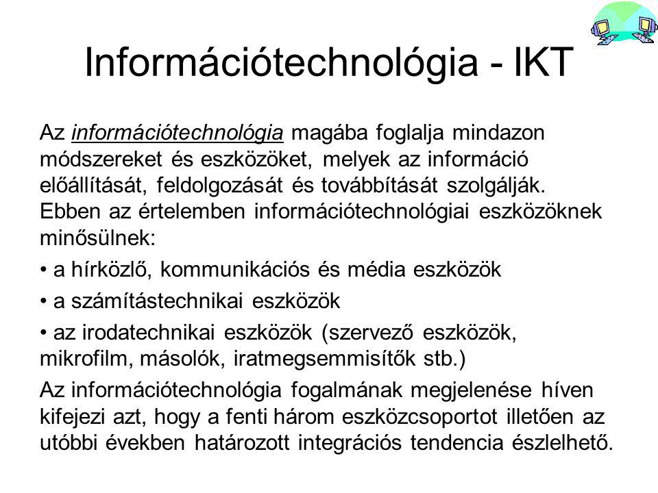Információtechnológia - IKT