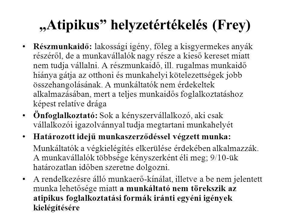 """""""Atipikus helyzetértékelés (Frey)"""