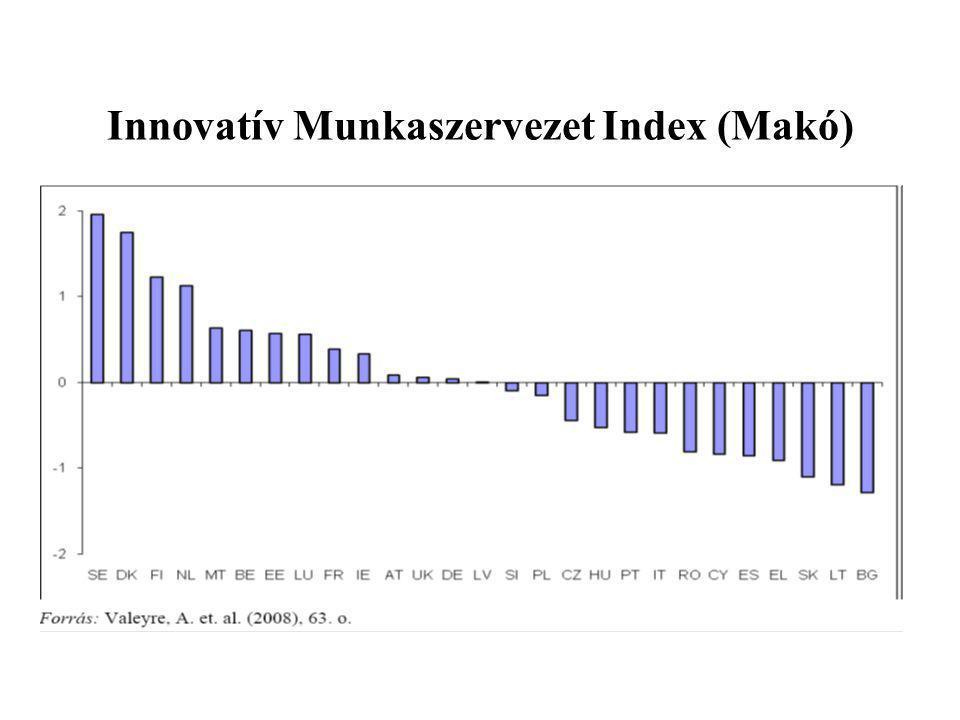 Innovatív Munkaszervezet Index (Makó)