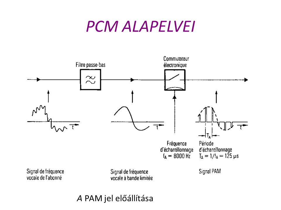 PCM ALAPELVEI A PAM jel előállítása