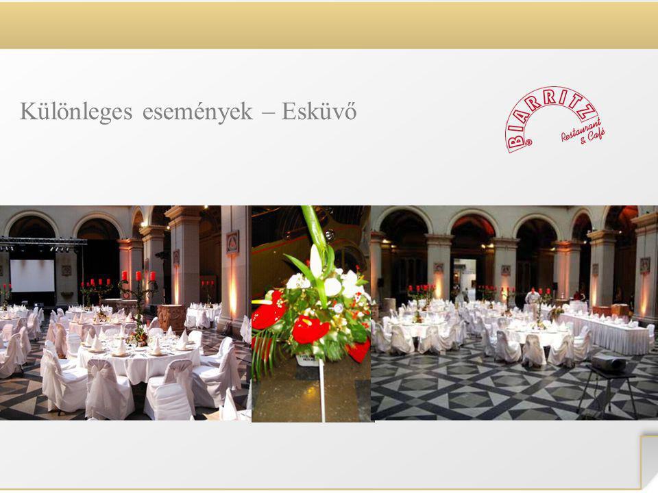 Különleges események – Esküvő