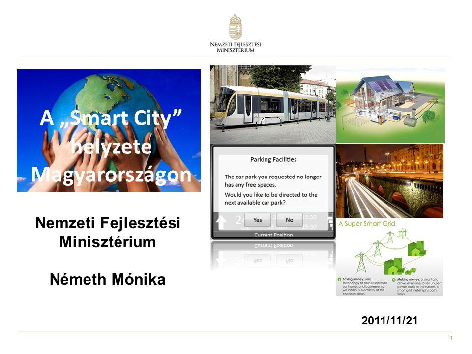 """A """"Smart City helyzete Magyarországon"""
