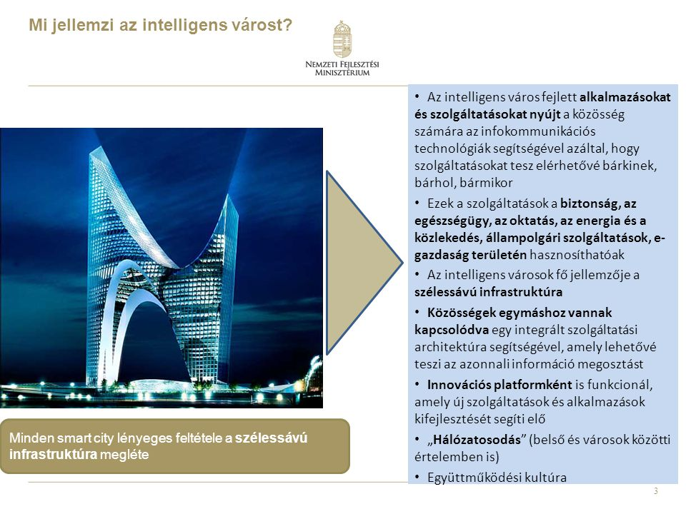 Mi jellemzi az intelligens várost