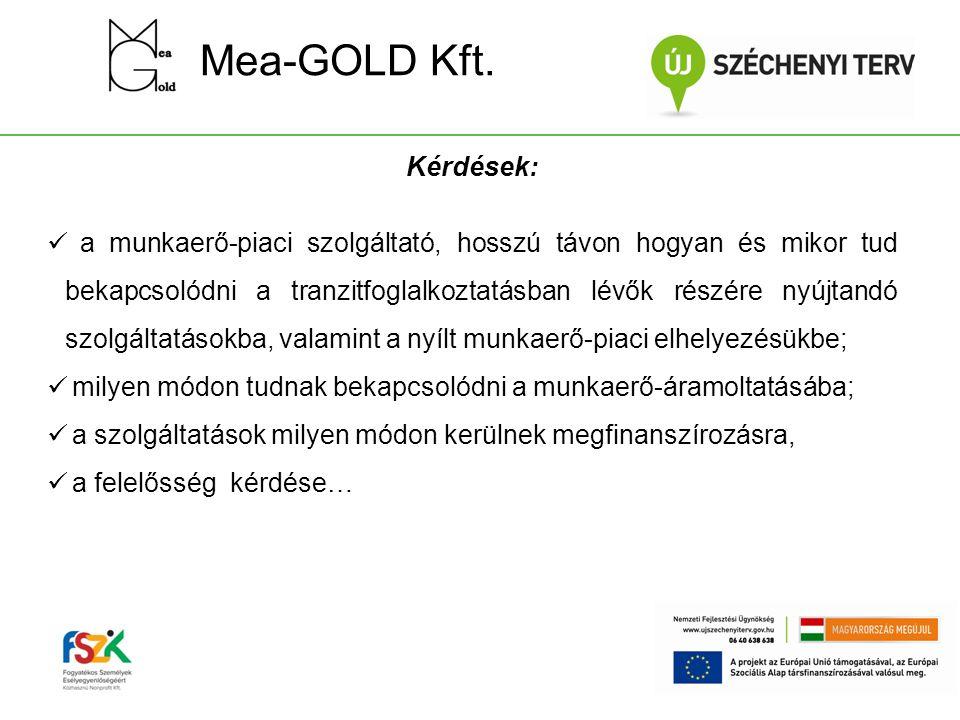 Mea-GOLD Kft. Kérdések: