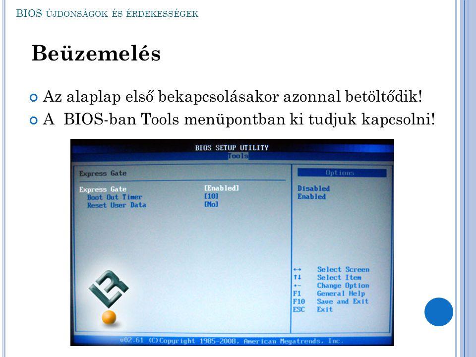 BIOS újdonságok és érdekességek