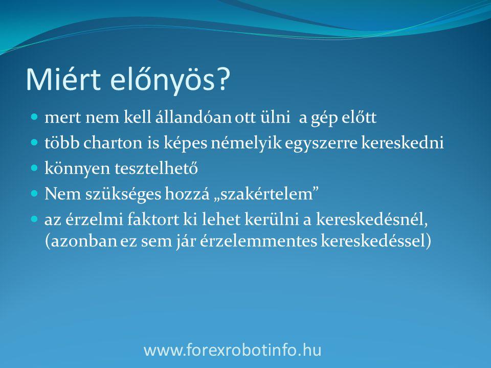 Miért előnyös www.forexrobotinfo.hu