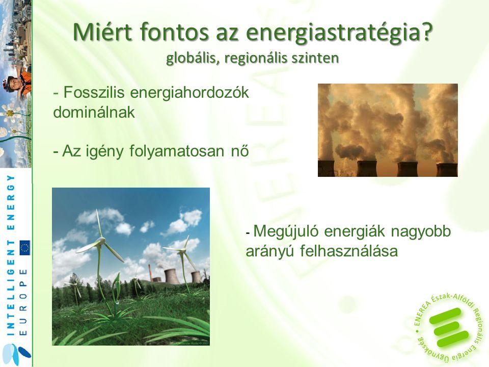 Miért fontos az energiastratégia globális, regionális szinten