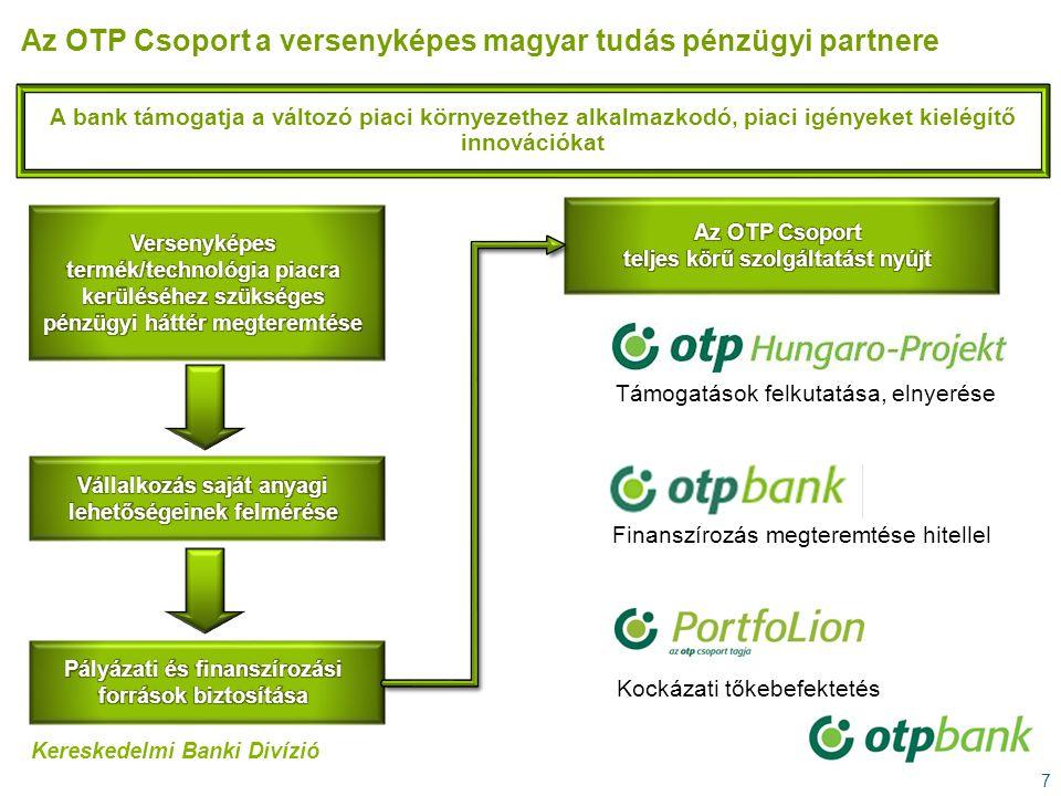 Az OTP Csoport a versenyképes magyar tudás pénzügyi partnere