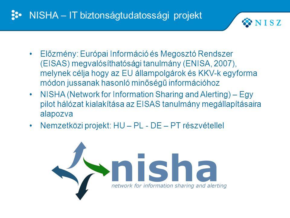 NISHA – IT biztonságtudatossági projekt