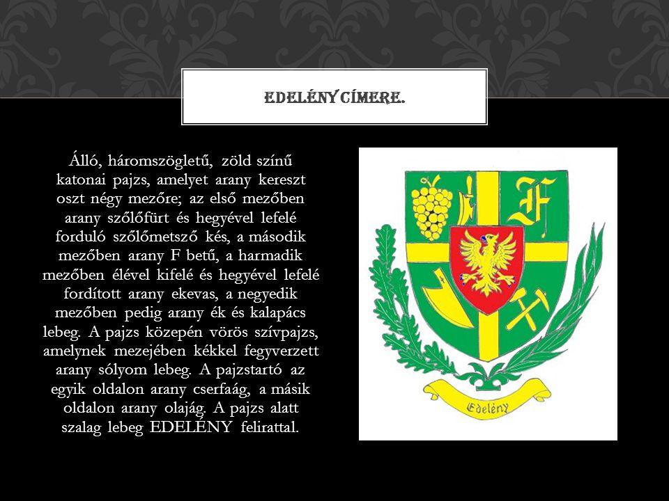 Edelény címere.