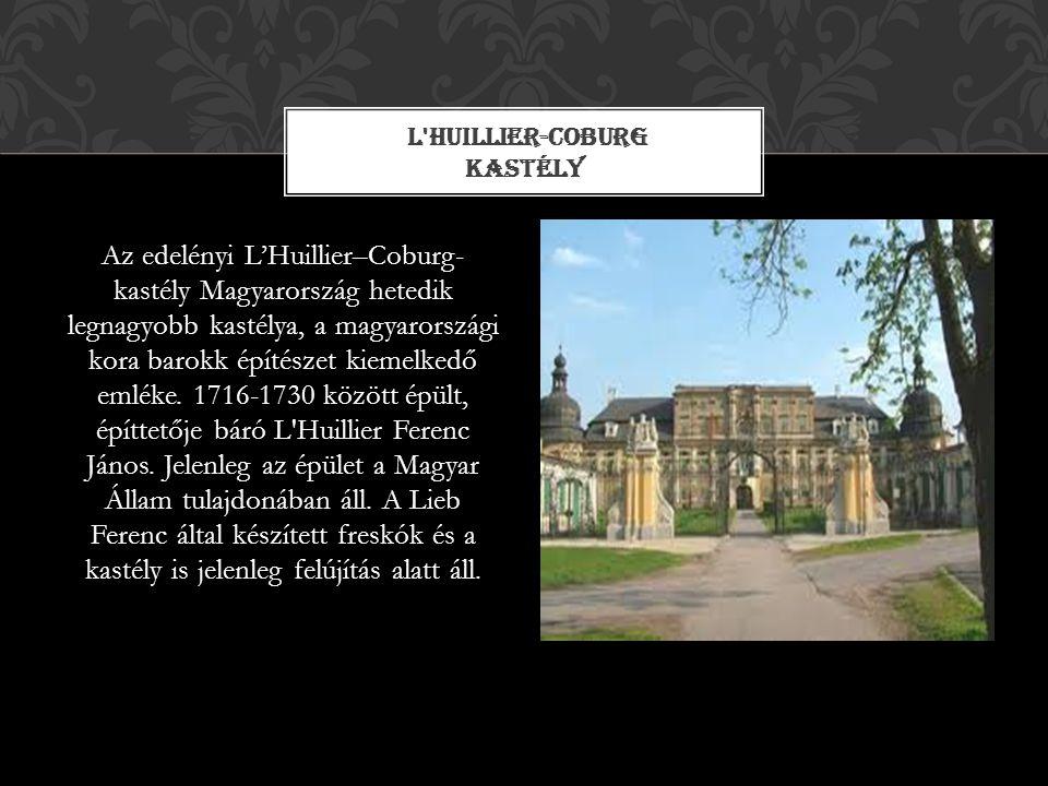 L Huillier-Coburg kastély