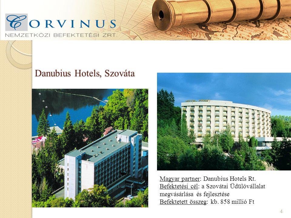 Danubius Hotels, Szováta