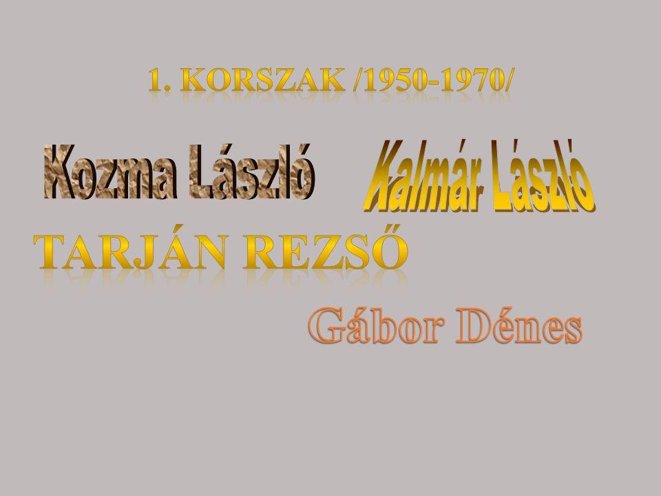 Tarján Rezső Gábor Dénes