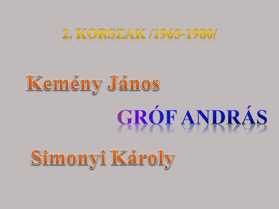 Kemény János Gróf András Simonyi Károly