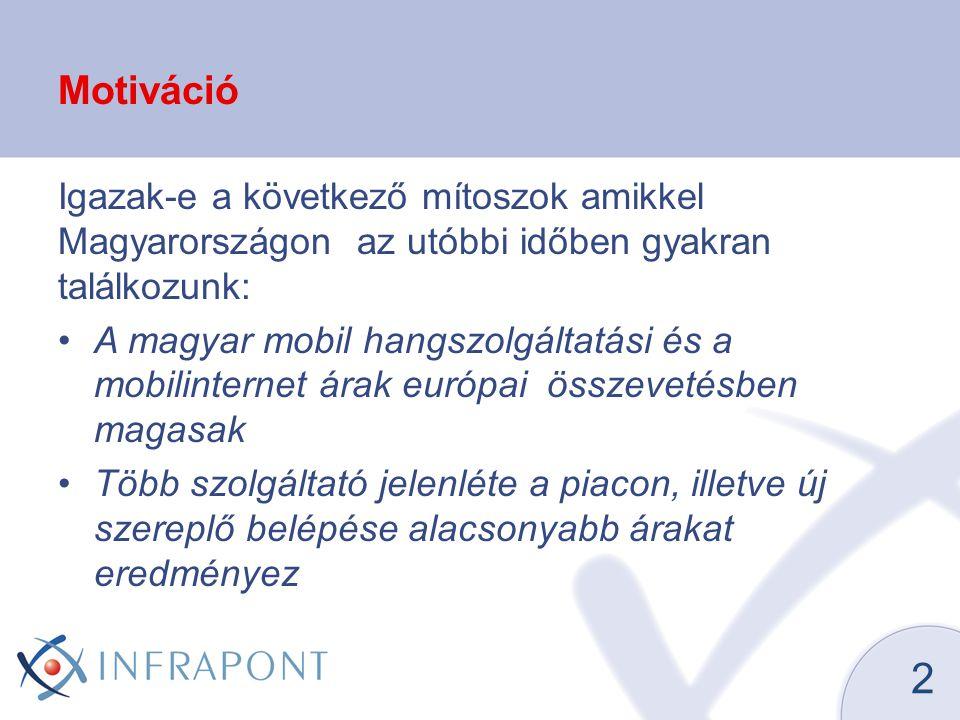 Motiváció Igazak-e a következő mítoszok amikkel Magyarországon az utóbbi időben gyakran találkozunk: