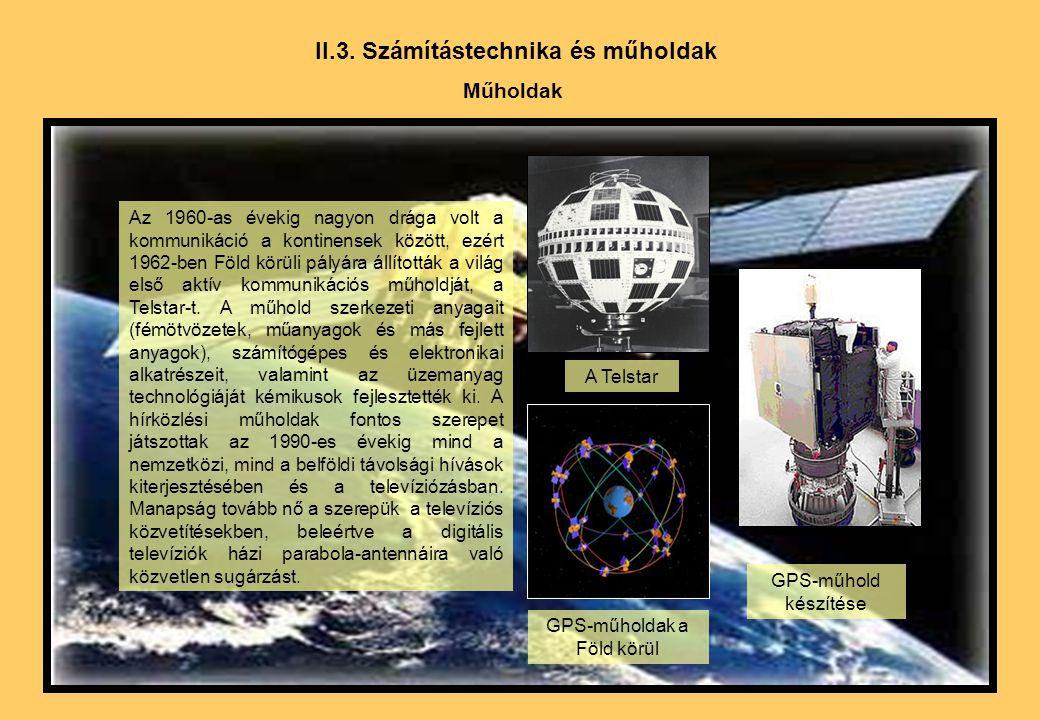 II.3. Számítástechnika és műholdak