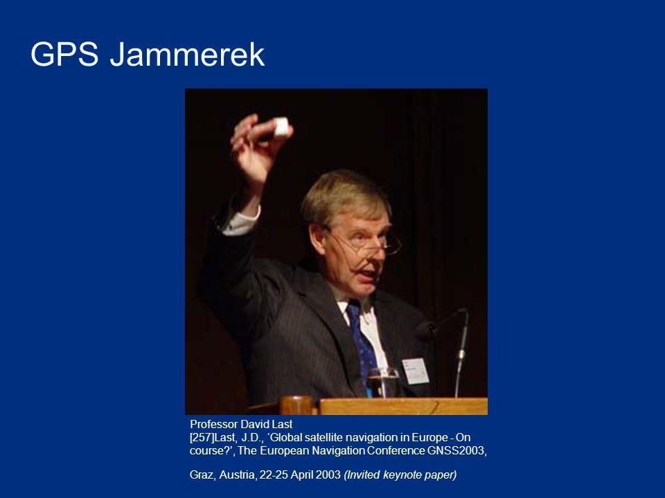 GPS Jammerek Professor David Last